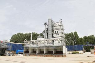 亚龙筑机ZHXB4000H整体式环保沥青混合料搅拌设备