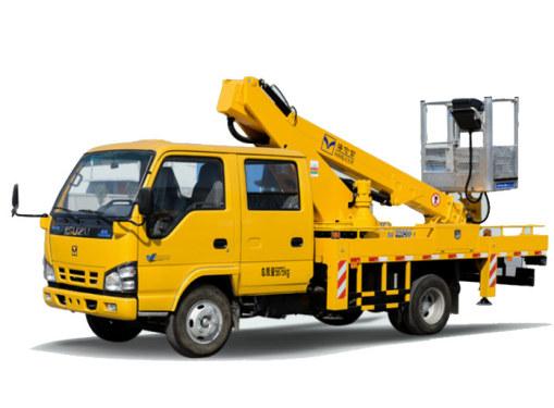 海伦哲XHZ5066JGKQ5庆铃16.2m伸缩臂高空作业车