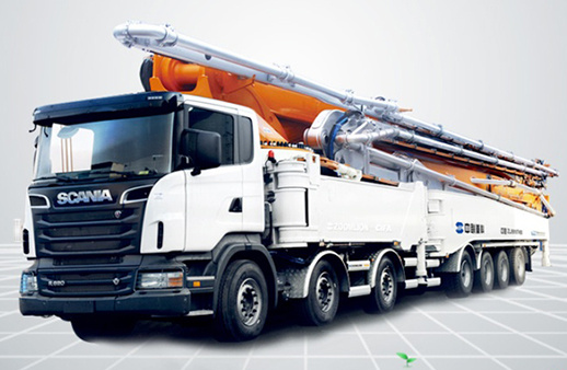中联重科101-7RZ碳纤维臂架泵车