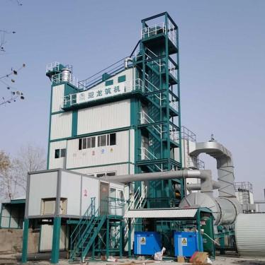 亚龙装备HXB2500H城市环保沥青混合料搅拌设备