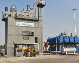 中凯路机JLB-5000C沥青混合料搅拌设备