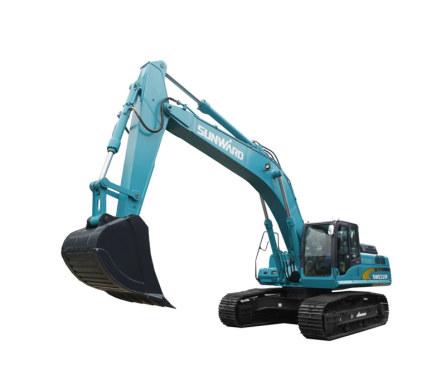 山河智能SWE335F(窄底盘)大型挖掘机