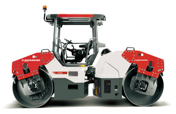 戴纳派克Dynapac CC3300双钢轮压路机