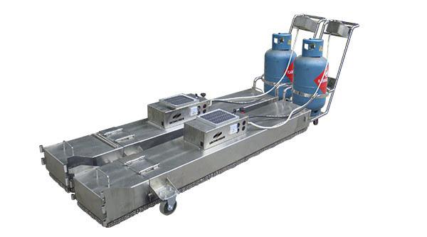 易路美4000手拉式加热再生修补机