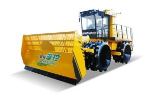 国机洛建GYL263RC遥控垃圾压实机