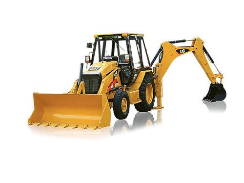卡特彼勒CAT®424B反铲装载机