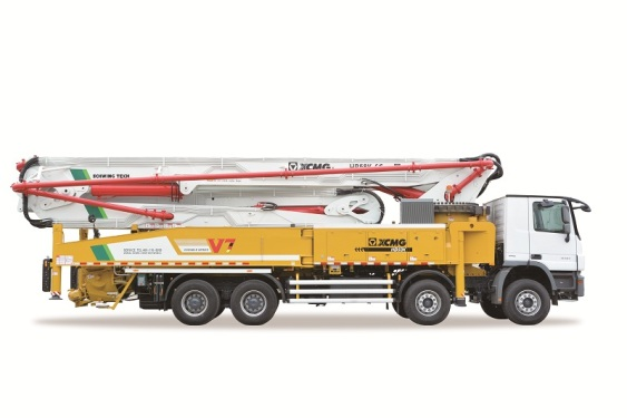 徐工HB58K(奔驰)混凝土泵车