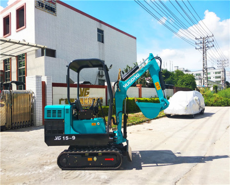 驭工YG15-9G履带式液压挖掘机 农用挖掘机