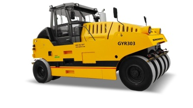 国机洛建GYR303轮胎压路机高清图 - 外观