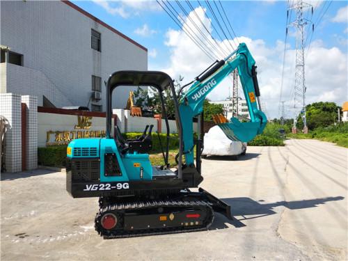 驭工YG22-9G供应驭工高配置履带式果园农场挖沟机