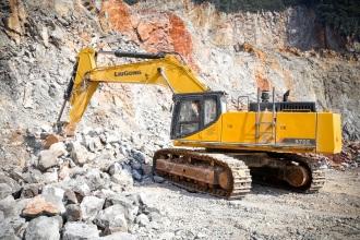 柳工CLG970E挖掘机高清图 - 外观
