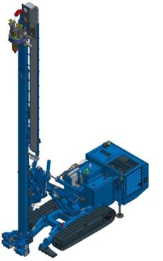 土力机械SM-22锚杆钻机