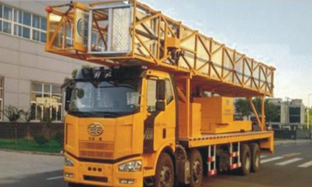 宇通重工YTZ5311JQJ11D522HP电动大跨度桥梁检测车