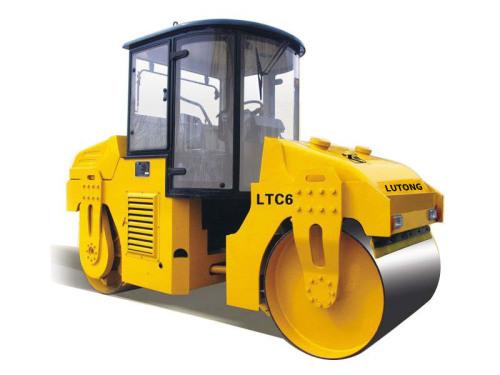 洛阳路通LTC6D双钢轮振动、振荡压路机