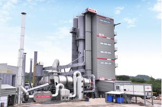 中交西筑SG4000型环保沥青混合料搅拌设备高清图 - 外观