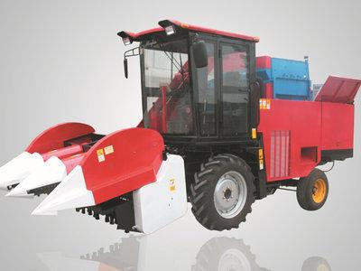 农哈哈4YZ-3B玉米收获机