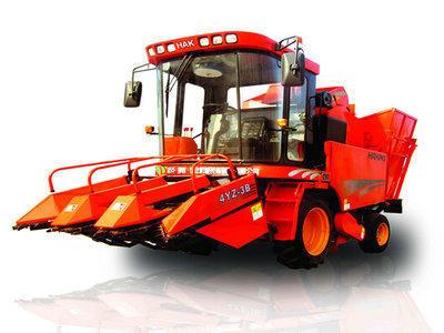 哈克农装4YZ-3B玉米收获机