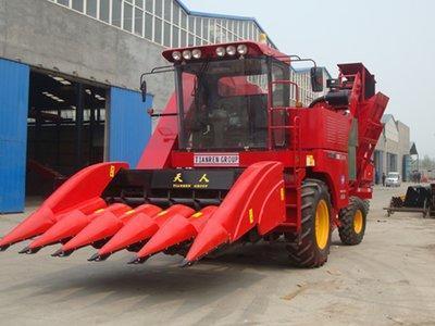 天人农机TR9988-5A玉米收获机
