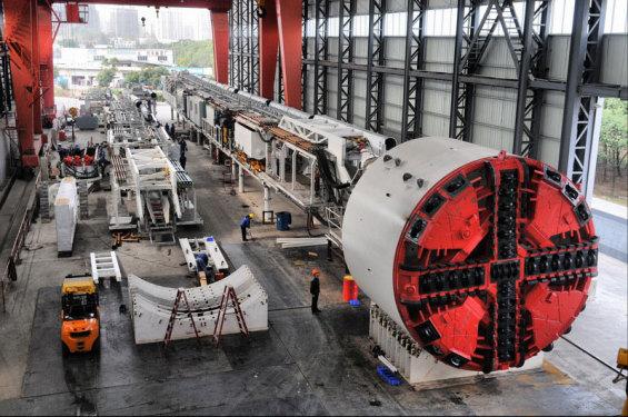 徐工φ6.45米复合式土压平衡盾构机盾构机械