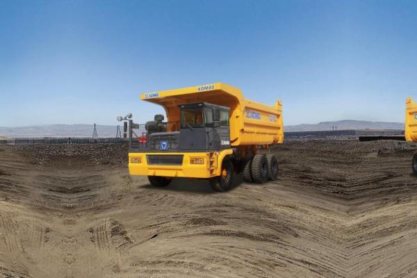 【720°全景展示】徐工XDM80机械传动自卸车