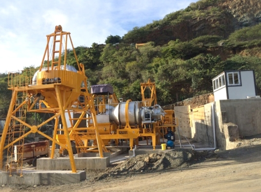 铁拓机械QLB-60t沥青搅拌机