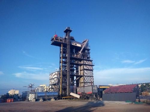 铁拓机械TS4020沥青厂拌热再生成套设备