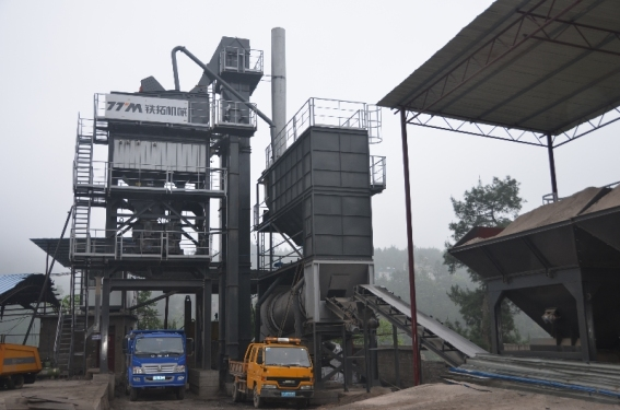 铁拓机械LB-2000沥青混合料搅拌站