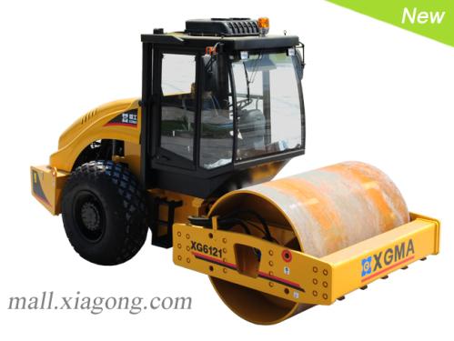 厦工XG6121全液压单钢轮压路机