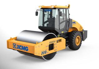徐工XS223J机械单钢轮振动压路机高清图 - 外观