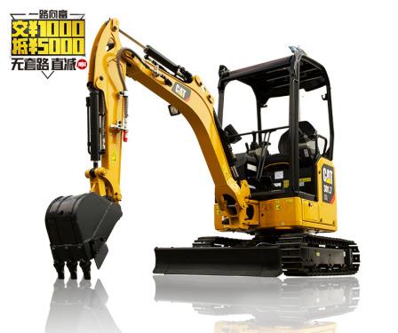 卡特彼勒新一代Cat®301.7CR迷你型挖掘机