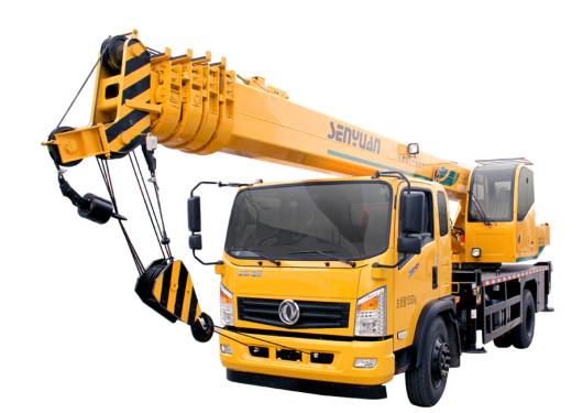 森源重工国五10吨五节臂汽车起重机