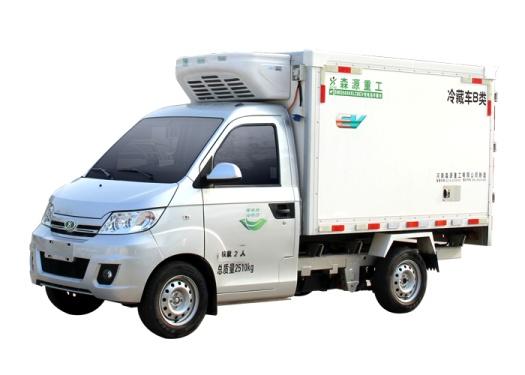 森源重工SMQ5030XLCBEV纯电动冷藏车
