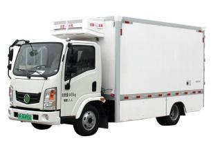 森源重工SMQ5040XLCBEV纯电动冷藏车高清图 - 外观