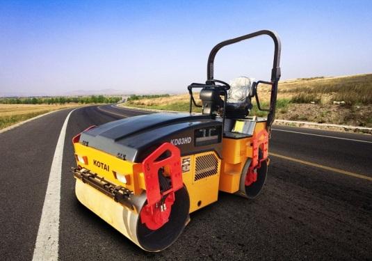 科泰重工KD03HD双钢轮压路机