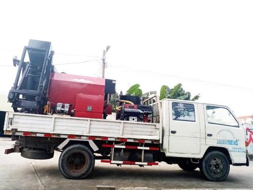 易山重工CLYB-CYB1000车再式沥青路面养护车热补车滚筒炒料机沥青拌合机