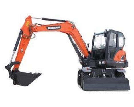斗山DX60W-9C挖掘机