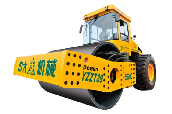 中大机械PowerYZZT39吨超大激振力多功能智能调向压路机