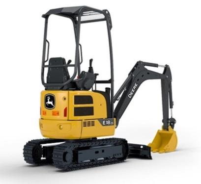 约翰迪尔E18ZS挖掘机