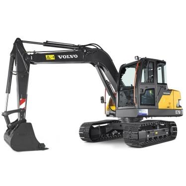 沃尔沃EC75D挖掘机