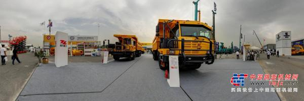 路面机械网带您720度全景看陕西同力BICES展区