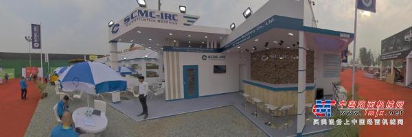 720全景: 陕建机印度工程机械展-Globel-ce出品