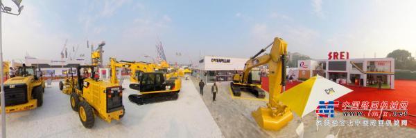 720全景:卡特印度工程机械展-Globel-ce出品