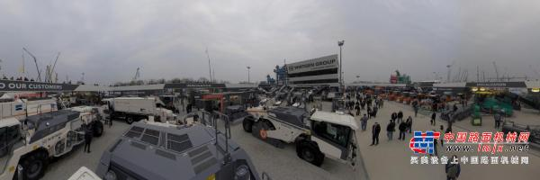 720°全景:维特根德国bauma2019-中国路面机械网&Global-CE出品