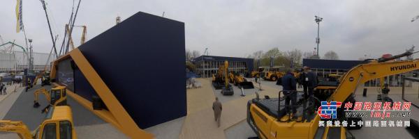 720°全景:现代德国bauma2019展示图