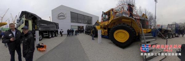 720°  Volvo Bauma 2019