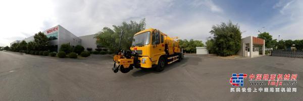 英达科技PM390沥青路面热再生修补车(修路王)
