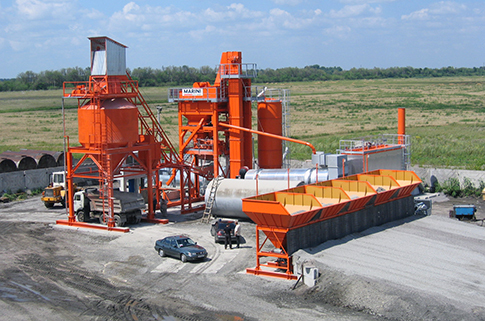 玛连尼UltiMAP 1300 E190 LB沥青搅拌设备