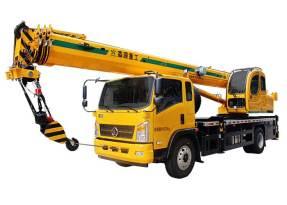 森源重工国标12吨汽车起重机