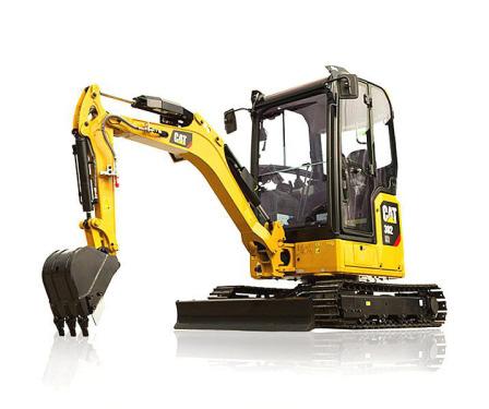 卡特彼勒新一代Cat®302CR迷你型挖掘机