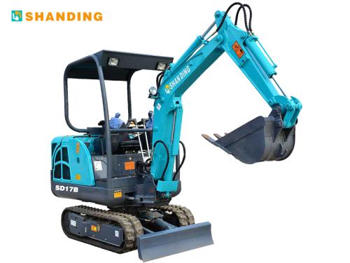 山鼎机械SD17B小型挖掘机